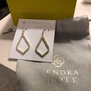 Kendra Scott gold Sophia drop earrings